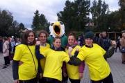 12 сентября команда МБДОУ приняла участие в спортивных соревнованиях в честь сорокалетия Железнодорожного района