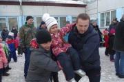 В преддверии праздника Дня Защитника Отечества в дошкольном учреждении прошли большие спортивные мероприятия