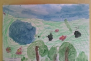 """Выставка творческих работ  """"Лето глазами детей"""""""