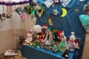 Новогодние выставки в МБДОУ