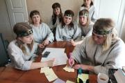 Команда нашего детского сада приняла участие в культурном полиатлоне
