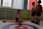 Учимся играть в напольный кёрлинг